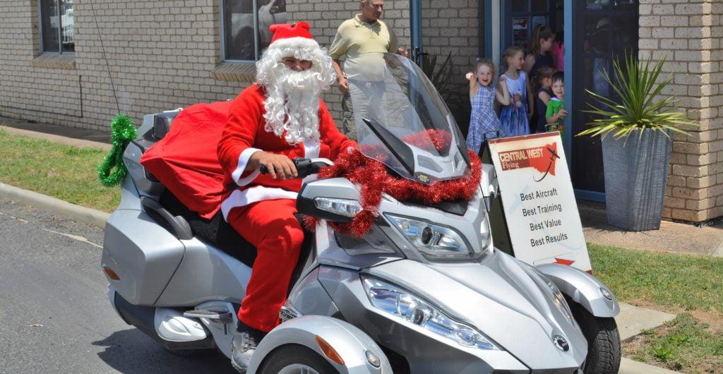 Santa a hit for the Children