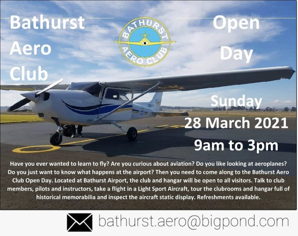 Open Day – Sunday 28 March